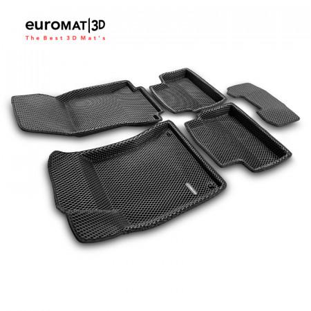 3D коврики Euromat3D EVA в салон для Mercedes B-Class (W247) (2018-) № EM3DEVA-003510