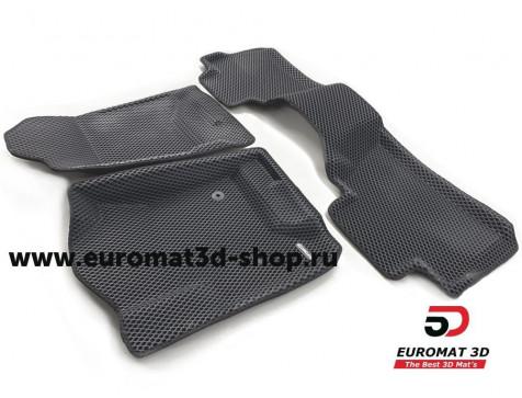 3D коврики Euromat3D EVA в салон для Cadillac Escalade (2015-) № EM3DEVA-001306
